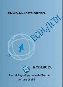 Copertina del Libretto ICDL senza barriere