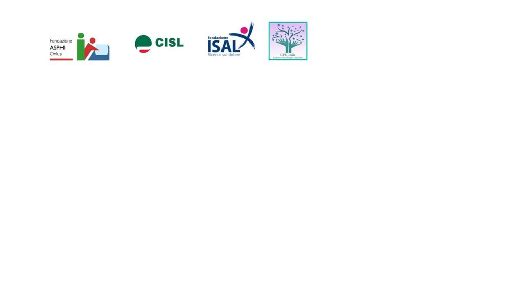 Loghi ASPHI, CISL, ISAL, CFU