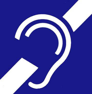 simbolo internazionale della sordità